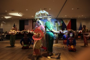 PASCAL dancers doing the Singkil