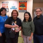 Renowned Filipino Designer Rocky Gathercole visits ABS-CBN Foundation's Bantay Bata