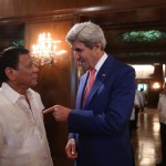 Duterte, Kerry affirm long-standing PHL-US relations