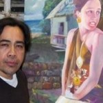 Mangyan artist holds one-man art exhibit in La Habra