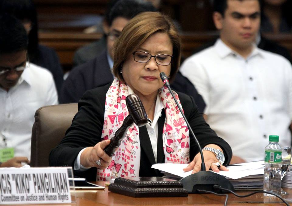 House body must push charges vs De Lima, says Roque