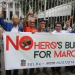 Families of desaparecidos file 2nd petition to stop hero's burial for Marcos