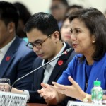 Robredo: All gov't execs, not just Duterte, should be cautious in what they say