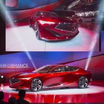 Acura Precision concept model expresses performance direction of Acura design