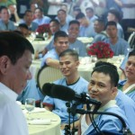 'You are the hero of the heroes' – blind soldiers tells Duterte